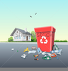 Littering Clipart Image