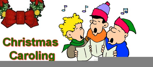 Christmas Carols Clipart.Children Christmas Caroling Clipart Free Images At Clker