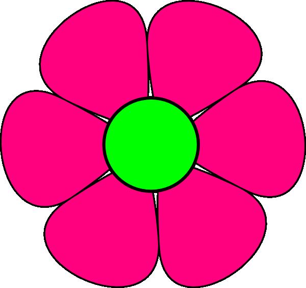 Pink Flower Clip Art a...