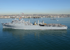 Uss Anchorage (lsd 36) Departs San Diego Bay Image