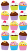 Sticko Stickers Cupcakes Image