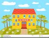 Clipart School Windows Building Image