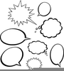 Speech Bubble Clipart Free Image