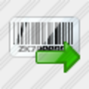 Icon Bar Code Export Image