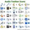 Audio Toolbar Icons Image