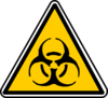 Warning - Bio-hazard Clip Art