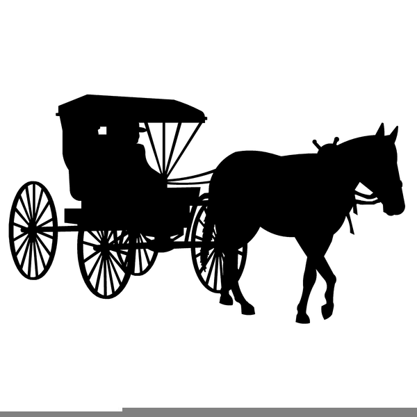 Amish Horse Buggy Clip...