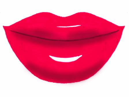 Lips Sealed Clip Art