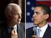 Election Showdown John Mccain Barack Obama Image