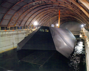 The Sea Shadow Was Developed Under A Combined Navy, Lockheed Martin Missiles And Space Company Program Image