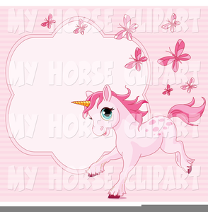 Free Clipart Pink Pony Image