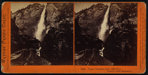 Upper Yosemite Fall, 1600 Feet, Yosemite Valley, Mariposa Co. Image