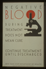 Negative Blood During Treatment Does Not Mean Cure Continue Treatment Until Discharged : New York State Department Of Health. Image