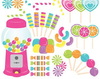 Free Clipart Kids Birthday Party Image
