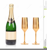 Champagne Bottle Image Clipart Image