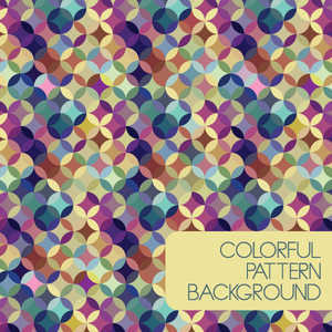 Colorful Pattern Background Image