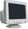 Crt Tube Monitor Clip Art