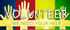 Volunteer Thank You Clipart Image