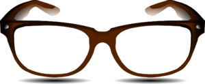 Brown Glasses Clip Art