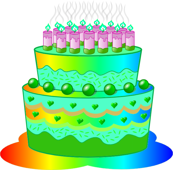 Birthday Cake B Free Images At Clker Vector Clip Art Online