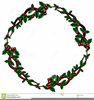 Christmas Clipart Borders Holly Image
