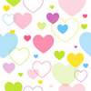 Colorful Heart Pattern Image