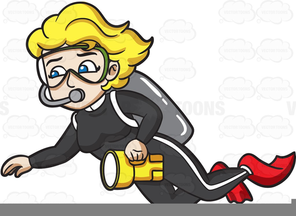 Animated Scuba Diver Clipart   Free Images at Clker.com ...