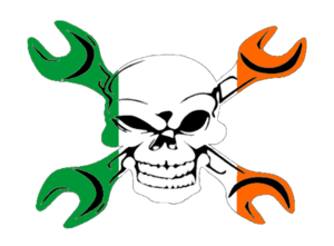 Gear Head Irish Flag | Free Images at Clker.com - vector clip art ...