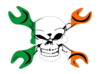 Gear Head Irish Flag Image