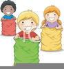 Free Potato Sack Race Clipart Image