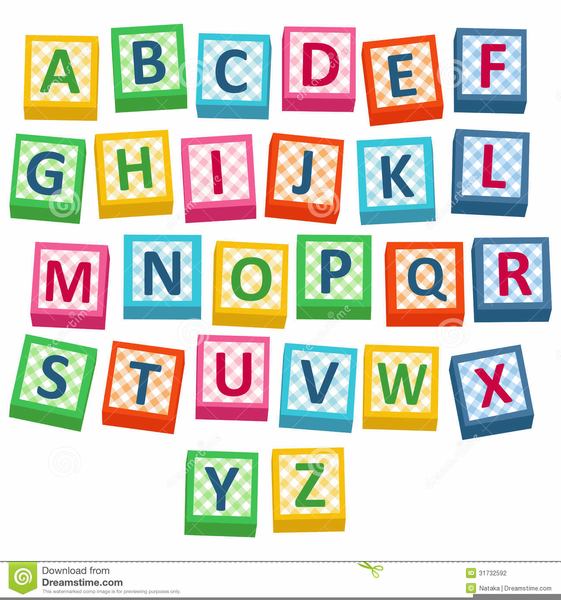 wooden alphabet block clipart free images at clker com vector rh clker com Baby Alphabet Blocks alphabet building blocks clipart