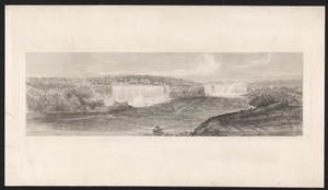 [niagara Falls From The Canadian Side]  / Drawn On The Spot By Captn. James Graham ; Engraved By F. C. Lewis, Engraver To The Queen, 53 Charlotte St., Portland Place. Image