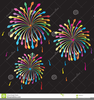 Free Fireworks Vector Clipart Image