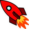 Red Rocket Clip Art