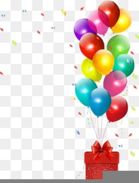 Birthday Balloon Clipart Border | Free Images at Clker.com ...