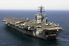 Uss Nimitz (cvn 68) Transits The Arabian Gulf As It Prepares For Flight Quarters. Image