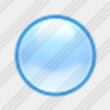Icon Cyan Ball Image