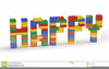Happy Holidays Word Clipart Image