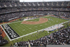 Raiders Stadium Baseball Image