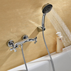 Chrome Finish Antique Handheld Shower Faucet--faucetsuperdeal.com Image