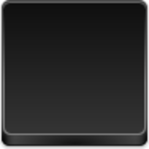 Free Black Button Empty Button Image