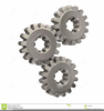 Clipart Gears Meshing Image