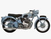 Motorbikes Clipart Image