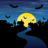 Scary Animated Halloween Clipart Image
