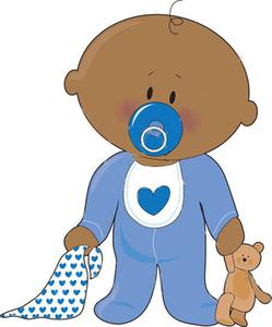 baby boy with teddy free images at clker com vector clip art rh clker com black baby cartoon images black baby cartoon clip art