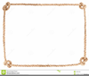 Heart Page Border Clipart Image