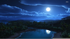 Moonlight Sky Wallpaper Image
