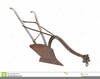 Horse And Plow Clipart Image