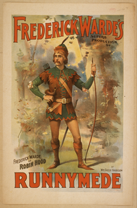 Frederick Warde S Superb Production Of Runnymede By Wm. Greer Harrison. Image