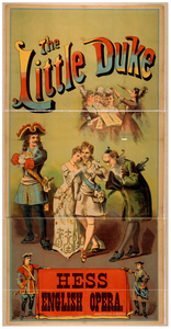 The Little Duke Hess English Opera. Image